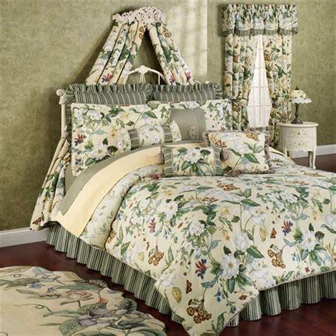 flower comforters garden images iii magnolia floral comforter bedding