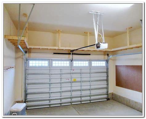 diy garage storage shelves plans overhead garage storage plans pinteres