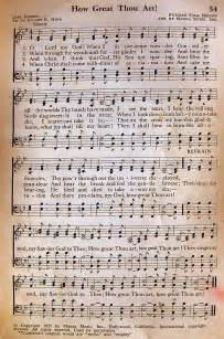 Old Rugged Cross Piano Sheet Music How Great Thou Art Lyndeutsch