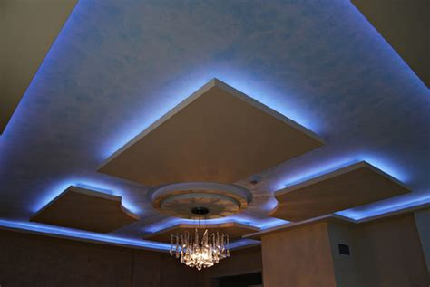 Modern Ceiling Lighting Ideas modern ceilings with lighting features by irena