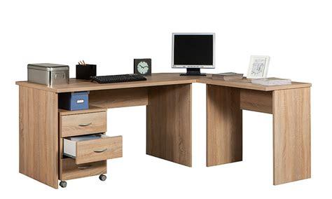 scrivania angolare per pc scrivania angolare legno gb57 187 regardsdefemmes