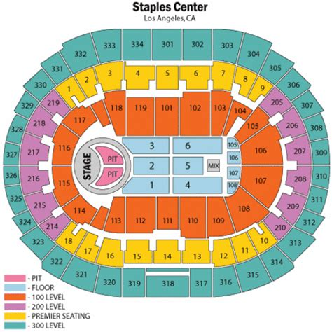 staples center map staples center bon jovi seating chart staples center bon jovi tickets