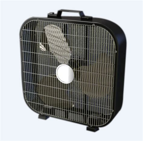 high velocity box fan 20 quot box fan with thermostat images frompo