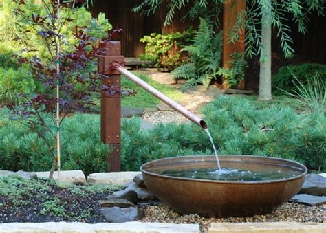 simple  practical ideas  water features  fountains