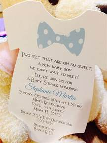 baby boy bow tie onesie baby shower invitation all wording customized for you boys bow ties