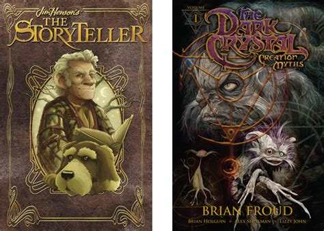 storytellers books jim henson s non muppets legacy lives on in 2 new comics