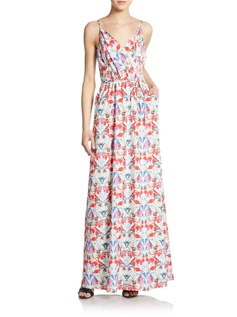 Tartan Maxi Dress Cleo yumi cleo maxi dress in multicolor pastel multi lyst