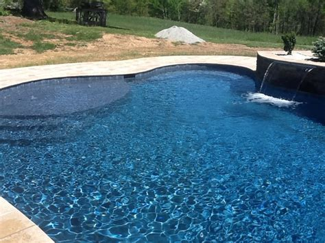 Midnight Blue Plaster   Traditional   Pool   Raleigh   by