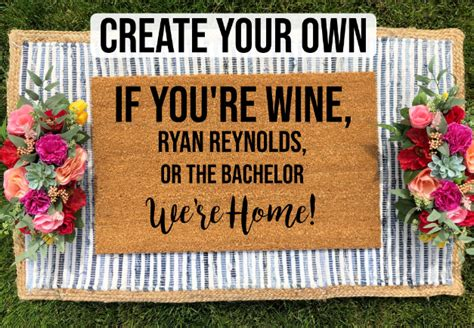 How To Make Your Own Welcome Mat