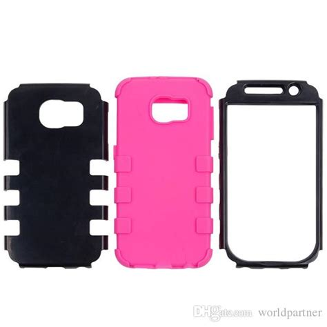Samsung Galaxy S6 G9200 Pc Silicone Casing Cover Bumper Armor 1 3 in plastic silicone hybrid combo for samsung