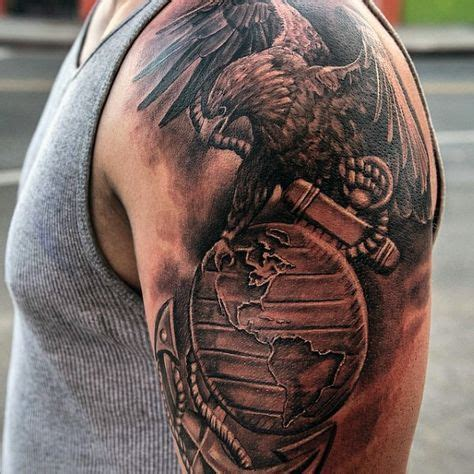 eagle tattoo anchor the 25 best military tattoos ideas on pinterest
