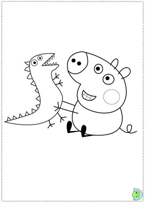 peppa pig george coloring pages candy cat peppa pig coloring pages