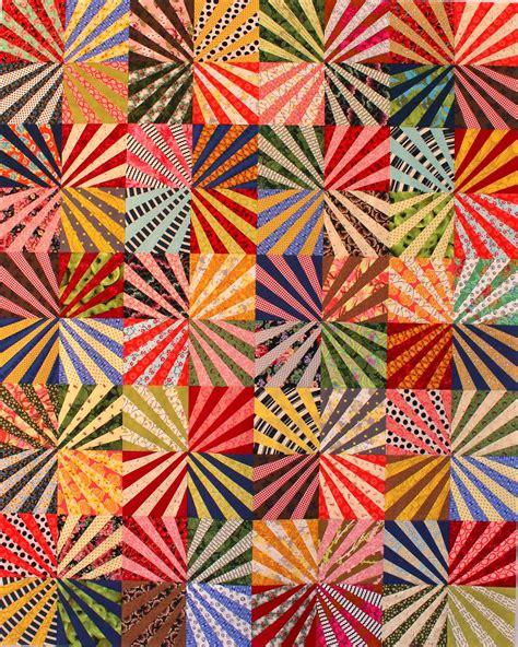 Fan Quilt Patterns by Griska Quilts Ferris Wheel Fan Quilt And Pattern