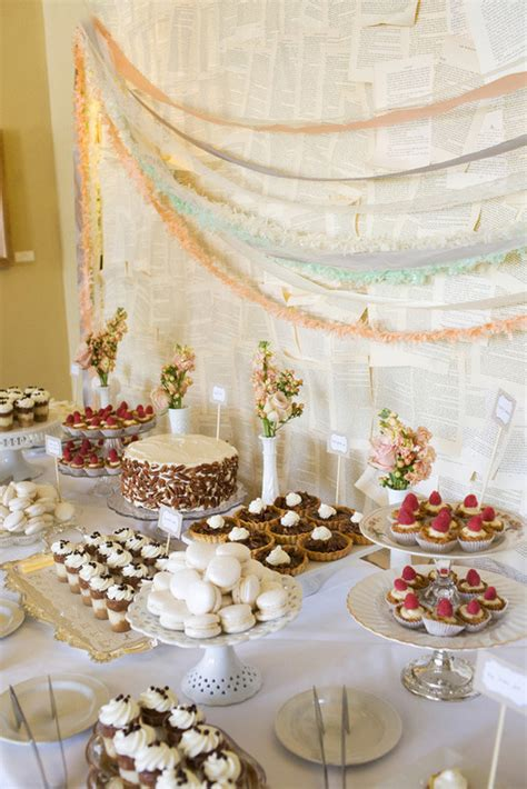 how to create a gorgeous vintage inspired wedding dessert