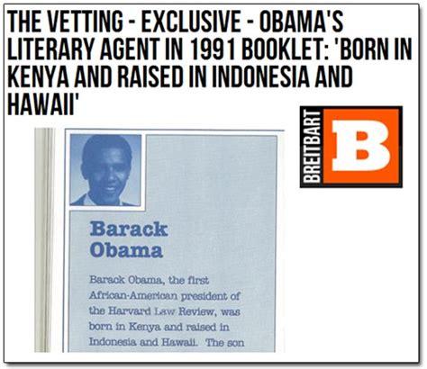 barack obama biography born in kenya breitbart birther exclusive obama born in kenya or not
