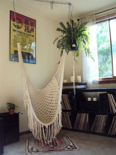 Bedroom Hammock Diy Macrame Chair I Need A Hanging Chair For My Bedroom