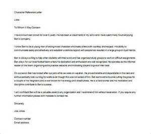 personal letter of recommendation 15 free word excel