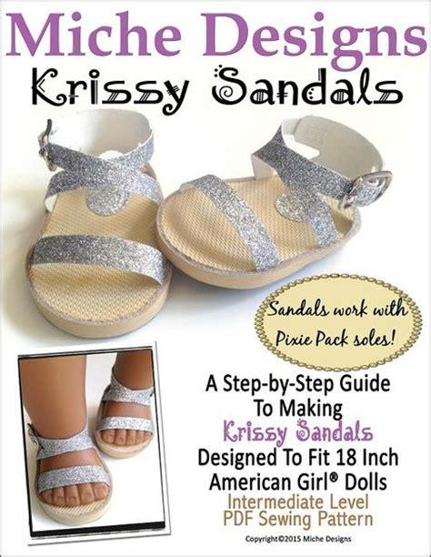 miche designs krissy sandals doll clothes pattern