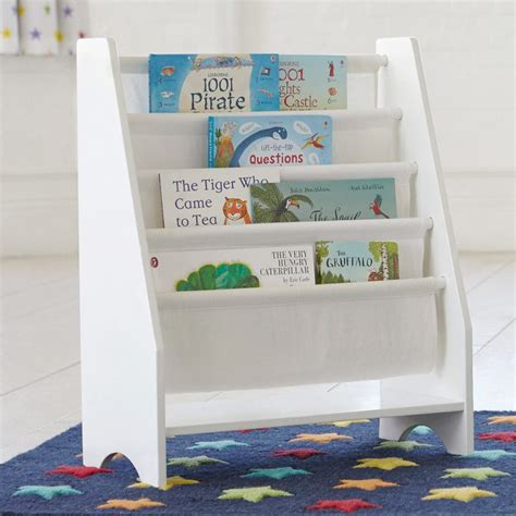 sling bookshelf white the best shelf design
