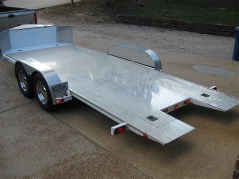 tilt bed car trailer jim glo tilt bed trailer can am commander forum