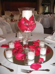 quinceanera table centerpieces roses never fails for table decor my wedding ideas