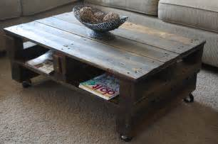 Coffee Table With Pallets Wilsons And Pugs Pallet Coffee Table