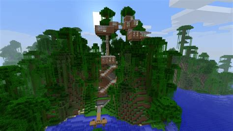 images  minecraft treehouses  pinterest