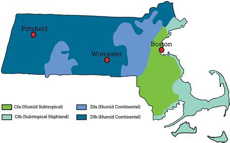 boston temperature k 246 ppen climate classification massachusetts climate