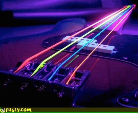 guitar strings light light up guitar strings