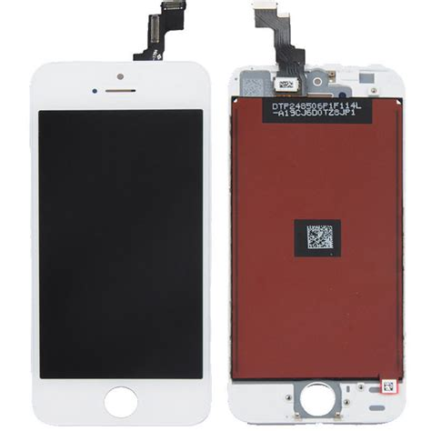 Lcd Iphone 5s white iphone 5s lcd display touch screen digitizer