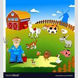 Cartoon Farm Scene | 983 x 1080 jpeg 293kB