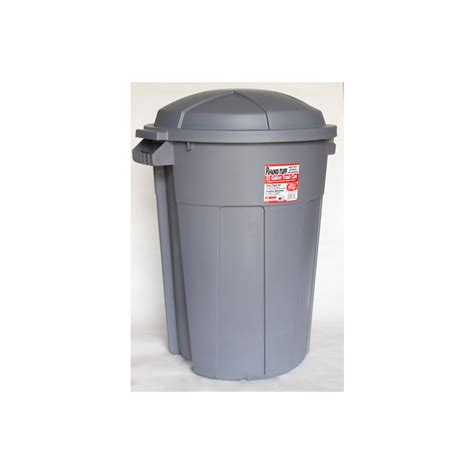 shop plastics 35 gallon outdoor garbage can at