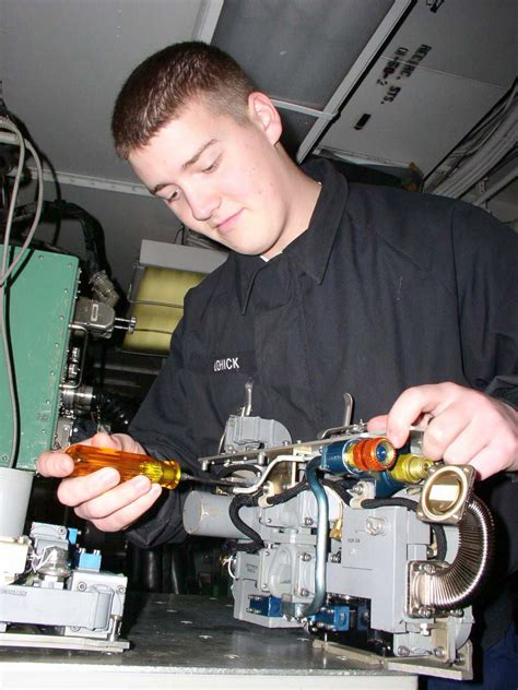 Electronics Technician Description by File Us Navy 030211 N 9403f 001 Aviation Electronics Technician Airman Daniel Cohick From