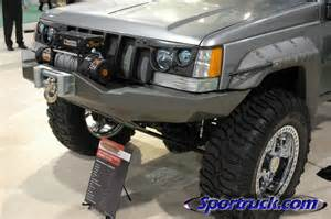 Jeep Wj Interior Mods Jeep Zj Bushwacker Sema Custom Trucks And Suvs