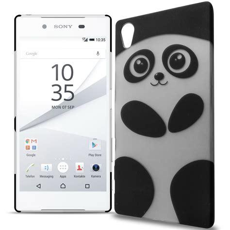 Casing Hp Xperia Z5 2 Custom Hardcase Cover phone for sony xperia z5 panda design slim back snap on cover ebay