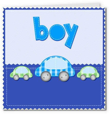 baby boy card template free printable baby cards gallery 2