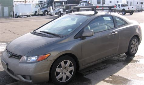Honda Civic Coupe Roof Rack by Honda Civic 2 Door Roof Rack Guide Photo Gallery