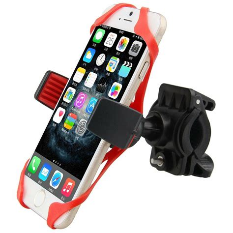 Bike Phone Holder By Paceshop22 motorcycle mtb bike bicycle handlebar mount holder band
