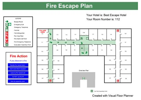 Floor Planner Online Free Fire Escape Plans