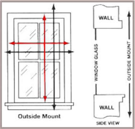 how to measure for shades outside mount a better blind measuring