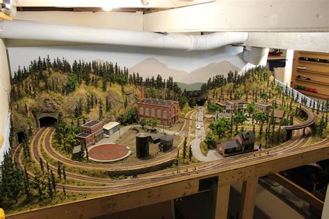 ty s model railroad layout scenery part v details