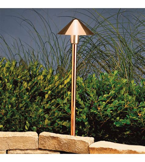 Kichler Outdoor Led Landscape Lighting Kichler Lighting Outdoor Led Landscape 12v Led Path Spread In Copper 15839co