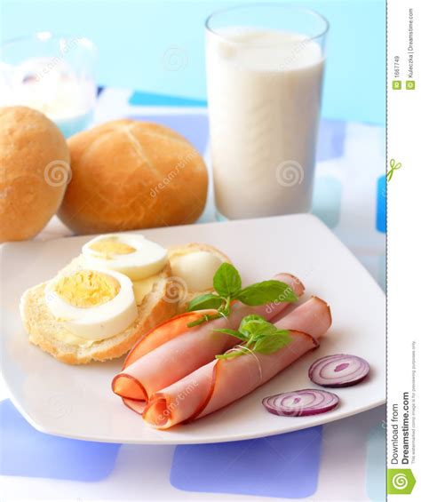 Light Breakfast by Light Breakfast Royalty Free Stock Images Image 1667749