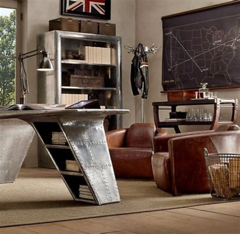 Masculine Office Decor by 50 Dramatic Masculine Home Office Designs Comfydwelling