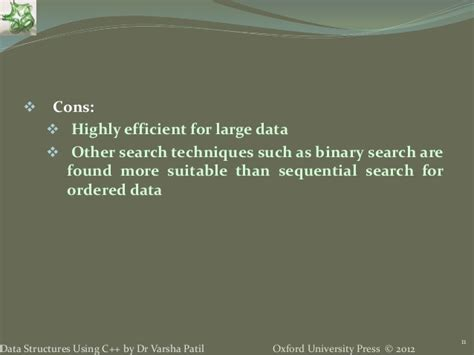 Binary Search Does Comparisons In The Worst 9 Searching Sorting Data Structures Using C By Varsha Patil