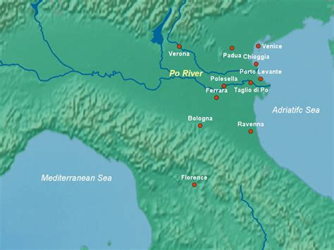 po river map po river europe www pixshark images galleries with