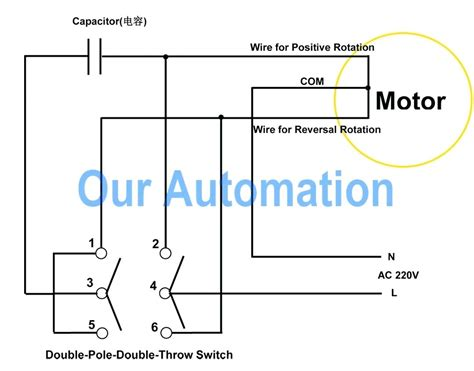 wiring diagram dayton reversible motor dayton drum switch