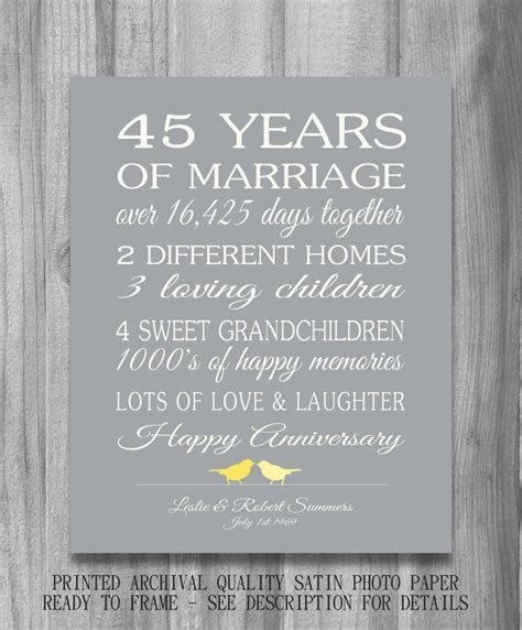 37 best Ideas for our 45th images on Pinterest   Marriage