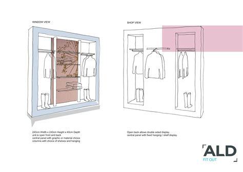 merchandise design proposal sketch design proposal boutique window display 읠ㅠ