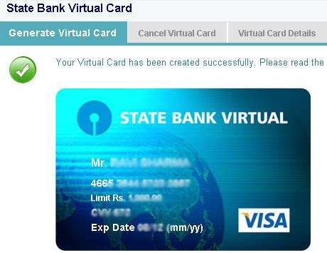 Virtual Credit Card Of SBI, ICICI, HDFC  Free& Instant   PlanMoneyTax